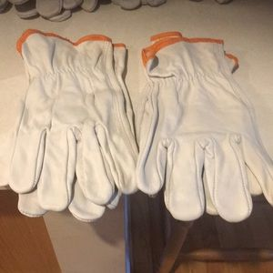 Men's new leather work gloves size 2x nwot